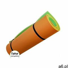 Aqua-sport mata pływająca wyspa long floating mat green-orange rozmiar 200x100x4cm - ogłoszenia A6.pl