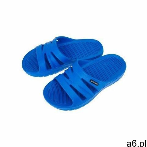 AQUA-SPORT KLAPKI BASENOWE SNAKE DZIECIĘCE JUNIOR BLUE ROZMIAR 34, kolor niebieski - 1