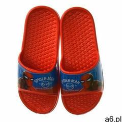 Klapki dziecięce Spider-Man czerwone, kolor czerwony - ogłoszenia A6.pl
