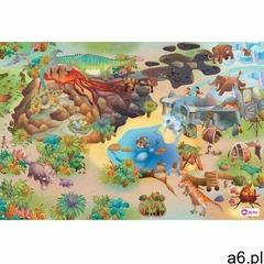 Domarex Dywanik dziecięcy Little Hippo Dinozaury, 75 x 112 cm - ogłoszenia A6.pl
