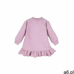 Sukienka dresowa fioletowa 6k40bi marki Eevi - ogłoszenia A6.pl