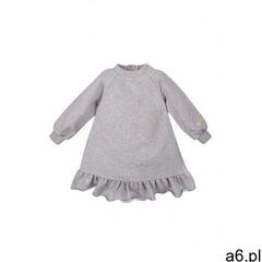 Sukienka dresowa szara 6k40bh marki Eevi - ogłoszenia A6.pl