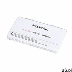 Tipsy naturalne 120 szt. z długą kieszonką marki Neonail - ogłoszenia A6.pl
