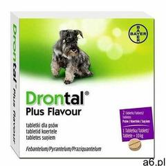 Bayer Drontal tabletki dla psów 2szt - ogłoszenia A6.pl