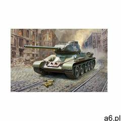 T34/85 soviet medium tank + prezent do zakupów za min.30 zł. marki Zvezda - ogłoszenia A6.pl