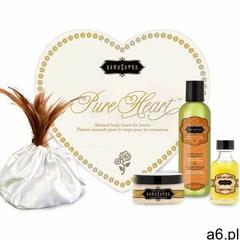 Sexshop - zestaw olejków w sercu dla ukochanej / walentynki - kama sutra pure heart białe - online m - ogłoszenia A6.pl