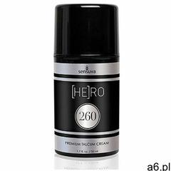 Sensuva Sexshop - he(ro) 260 talcum cream for men 50 ml - krem pielęgnacyjny dla mężczyzn - online - ogłoszenia A6.pl