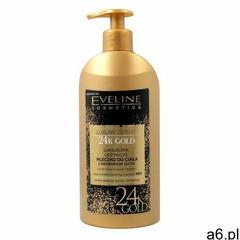 Eveline luxury expert 24k gold, 350 ml. luksusowe odżywcze mleczko do ciała z drobinkami złota - eve - ogłoszenia A6.pl
