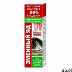 Jad Żmii - kwas mrówkowy i mumio żel balsam Walentina Dikula 125ml (4607011668234) - ogłoszenia A6.pl