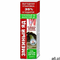 Jad Żmii - pszczeli jad i złoty wąs żel balsam Walentina Dikula 125ml (4607011668227) - ogłoszenia A6.pl