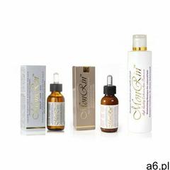 MonRin zestaw na łupież suchy. Lotion 60ml ekstrakt 60ml szampon 250ml - ogłoszenia A6.pl