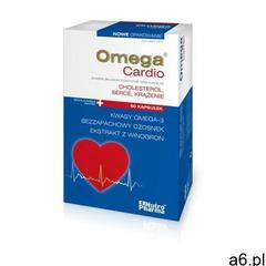 OmegaCardio+czosnek kaps. 60 kaps. (5907513003236) - ogłoszenia A6.pl