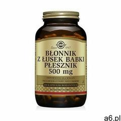 Błonnik z łusek Babki Płesznik 500mg 200kaps - ogłoszenia A6.pl