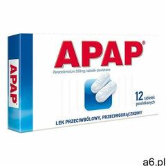 Tabletki Apap 12 tabletek - ogłoszenia A6.pl
