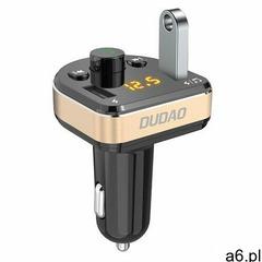transmiter fm bluetooth ładowarka samochodowa mp3 3.1 a 2x usb czarny (r2pro black) marki Dudao - ogłoszenia A6.pl