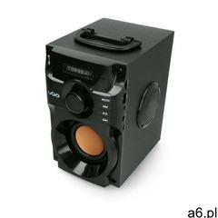 Głośnik bezprzewodowy Bluetooth UGO Soundcube czarny 10W - ogłoszenia A6.pl