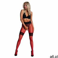 diva red-black 30 den rajstopy marki Amour - ogłoszenia A6.pl