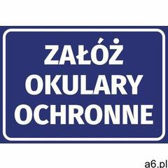 Naklejka załóż okulary ochronne - ogłoszenia A6.pl