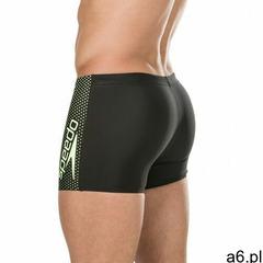 Speedo spodenki bokserki men gala logo aquashort black-green, kolor: black, fason: bokserki, materia - ogłoszenia A6.pl