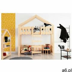 Producent: elior Dziecięce drewniane łóżko piętrowe - zorin 2x - ogłoszenia A6.pl