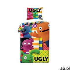Pościel Ugly Dolls 140x200cm 1Y37OL - ogłoszenia A6.pl
