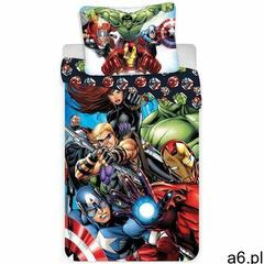 Dziecięca pościel bawełniana avengers 03, 140 x 200 cm, 70 x 90 cm marki Jerry fabrics - ogłoszenia A6.pl