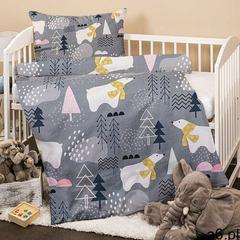 4Home Dziecięca pościel flanelowa do łóżeczka Nordic Bear, 100 x 135 cm, 40 x 60 cm (8596175015328) - ogłoszenia A6.pl