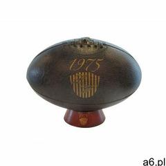 Piłka owalna rugby retro united - dł. 29 cm - kolor czekoladowy marki Vente-unique - ogłoszenia A6.pl