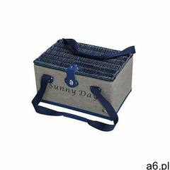 Cilio - tenno - kosz piknikowy dla 4 osób - granatowo-szary (4017166156782) - ogłoszenia A6.pl
