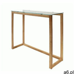 Szklana konsola Dibby - naturalna, Sto000604 / Konsola Tuile Naturalna/ Szkło - ogłoszenia A6.pl