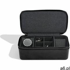 Stackers Etui podróżne na zegarki i spinki czarne - ogłoszenia A6.pl