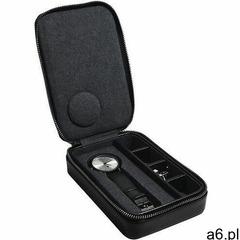 Etui podróżne na zegarek i spinki czarne marki Stackers - ogłoszenia A6.pl