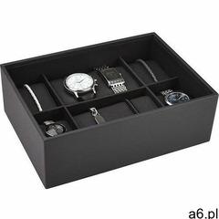 Pudełko na zegarki 6 komorowe classic marki Stackers - ogłoszenia A6.pl