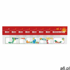 etykiety samoprzylepne na słoiki 30 sztuk marki Biowin - ogłoszenia A6.pl
