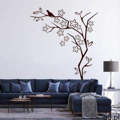 Dekoracja z weluru drzewo, ptak 2115 marki Wally - piękno dekoracji - ogłoszenia A6.pl