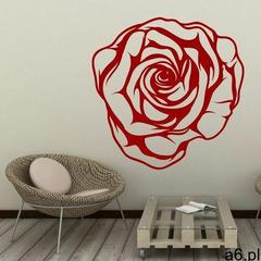 Dekoracja welurowa kwiat róży 2043 marki Wally - piękno dekoracji - ogłoszenia A6.pl