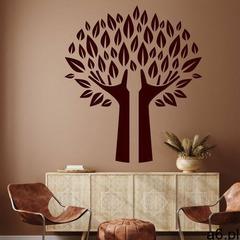 Dekoracja z weluru drzewo 2378 - ogłoszenia A6.pl