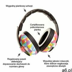 Słuchawki ochronne nauszniki dzieci 0-3lat - graffiti marki Banz - ogłoszenia A6.pl