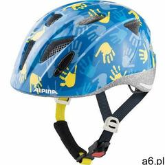 Kask rowerowy ALPINA XIMO NIEBIESKI POŁYSK DŁONIE 49-54 new 2021 dla dzieci - A9711285- Zamów do 16: - ogłoszenia A6.pl