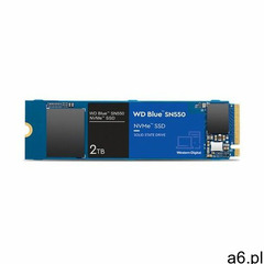 SSD WD Blue 2TB NVMe WDS200T2B0C- Zamów do 16:00, wysyłka kurierem tego samego dnia! - ogłoszenia A6.pl