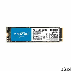 Dysk CRUCIAL P2 1TB SSD, CT1000P2SSD8 - ogłoszenia A6.pl