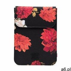 opakowanie HERSCHEL - Spokane Sleeve for 13 inch MacBook Vintage Floral Black (02997), kolor czarny - ogłoszenia A6.pl