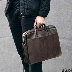 Męska torba saszetka na ramię laptopa Solier brązowa S13 (5902650681569) - ogłoszenia A6.pl
