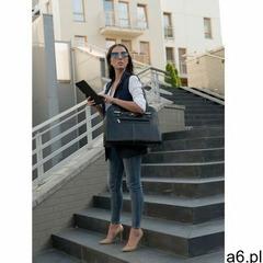 """Skórzana torba damska na laptopa 15,4"""" oak grove czarna marki Mcklein - ogłoszenia A6.pl"""