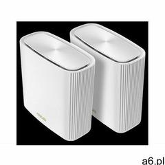 ASUS Zestaw ZenWiFi XT8 AX6600 2-pack biały ZenWiFi XT8 WHITE - ogłoszenia A6.pl