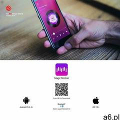 Magic motion Masażer punktu g sterowany aplikacją - flamingo vibrating bullet (6958136103192) - ogłoszenia A6.pl
