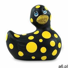Big teaze toys Malowniczy stymulator łechtaczki - rub my duckie 2.0 happiness czarny (8717903273753) - ogłoszenia A6.pl