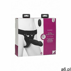 Wibrująca przedłużka na penisa - be risqué - black -czarna 0801-08-bx marki Doc johnson - body exten - ogłoszenia A6.pl