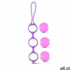 Potrójne kulki gejszy bi-balls triple fioletowy marki Toyz4lovers - ogłoszenia A6.pl