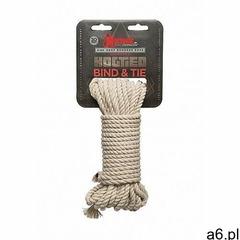 Lina do wiązania - konopna 2404-20-cd - hogtied - bind & tie - 6mm hemp bondage rope - 9 metrów  - ogłoszenia A6.pl